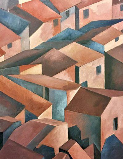 Emmanuel Jonquière - Architecture (Huile)