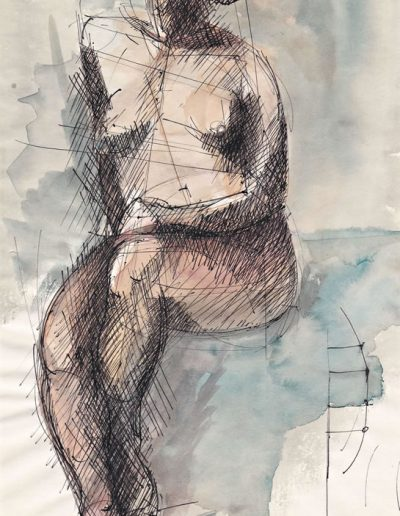 Emmanuel Jonquière - Nus (Dessin)