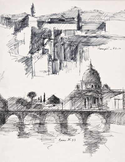 Emmanuel Jonquière - Architecture et Paysage (Dessin)