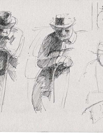 Emmanuel Jonquière - Portraits (Dessin)
