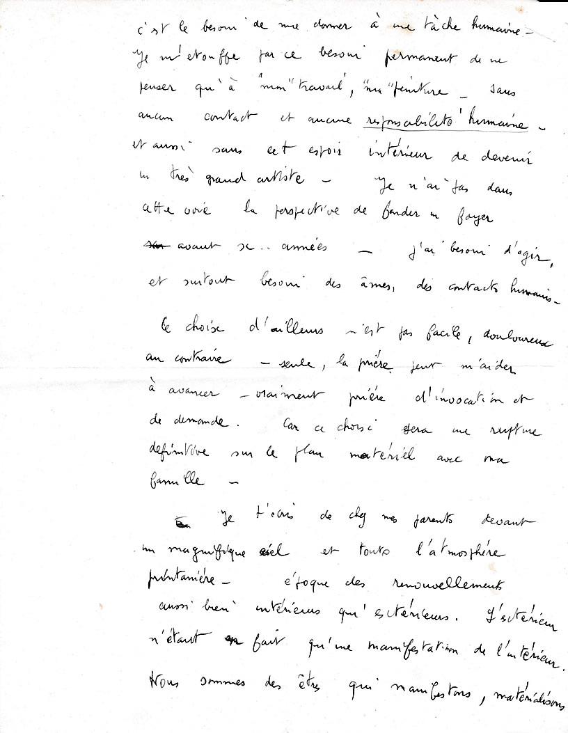Lettre de Daniel Hamot, photographe (page-2)