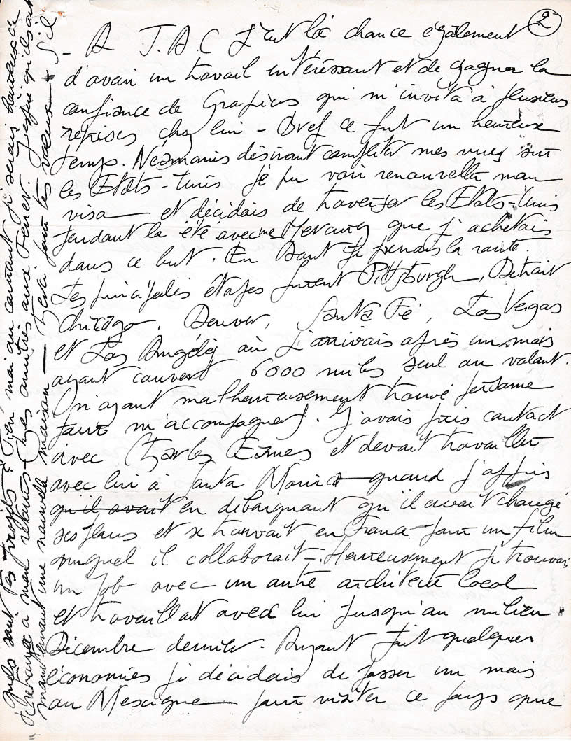 Lettre de M. Silvy, architecte (30 janvier 1956 - page-2)