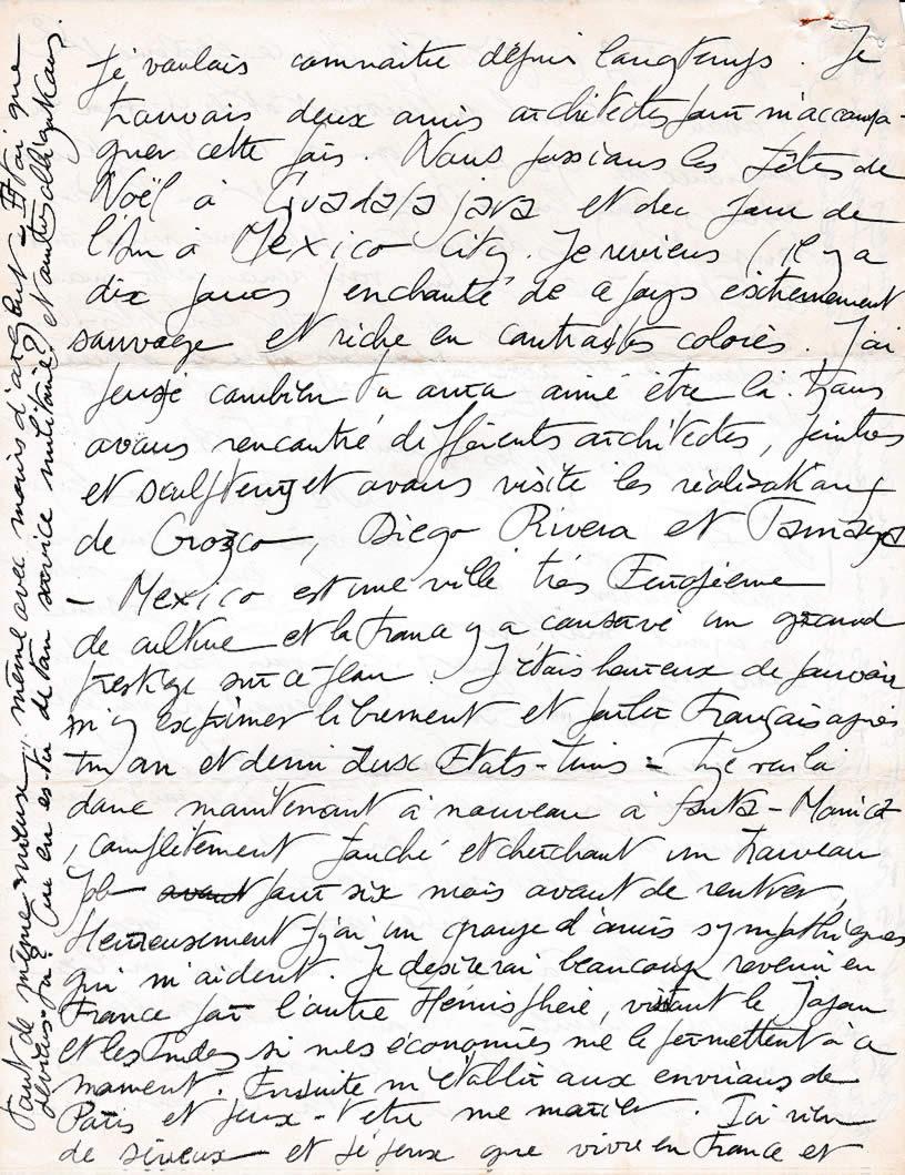 Lettre de M. Silvy, architecte (30 janvier 1956 - page-3)