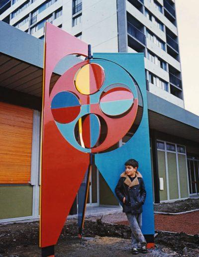 Création dans le cadre des 1% artistiques : Lyceé Grenoble