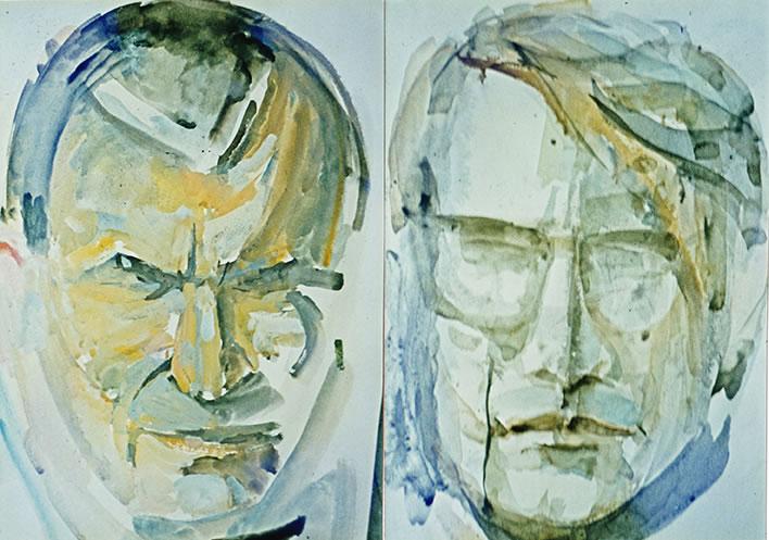 Portraits d'amis, années 60