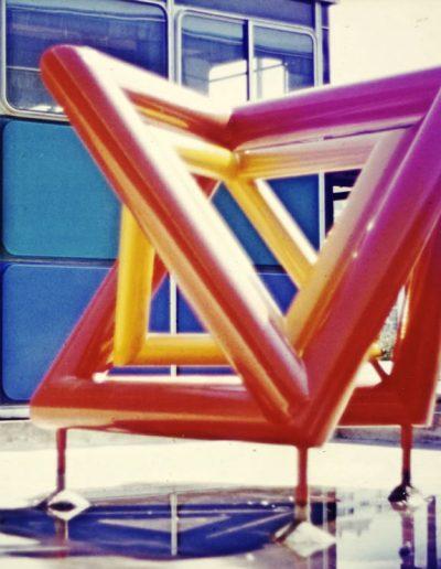 Création dans le cadre des 1% artistiques : Lycée Grenoble